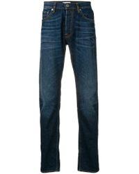 Stone Island Blue Straight-leg Jeans for men