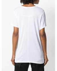 T By Alexander Wang White Relaxed Fit T-shirt