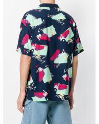 Carhartt Blue Anderson Shirt for men