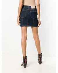 Givenchy デニム ミニスカート Blue