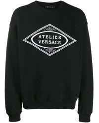 メンズ Versace スウェットシャツ Black