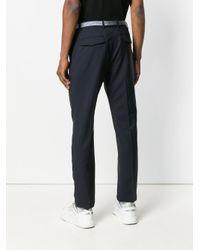 Pantaloni Chino di Valentino in Blue da Uomo