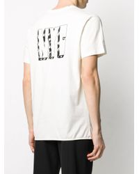 メンズ Heron Preston スローガン Tシャツ White