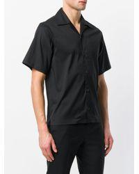 Prada Black Classic Short Sleeved Shirt for men