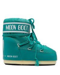 Moon Boot ロゴ ムーンブーツ Green