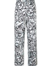 Fendi Blue X Joshua Vides Printed Trousers for men