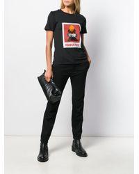 T-shirt à imprimé graphique Neil Barrett en coloris Black