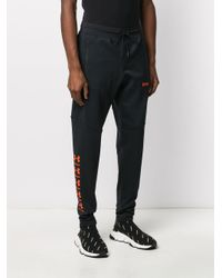 Palm Angels Jogginghose mit Logo-Print in Black für Herren