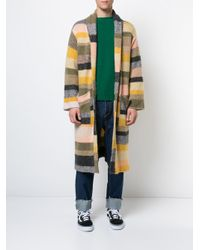 The Elder Statesman - Multicolor Long Striped Cardigan for Men - Lyst
