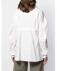 Chemise ample classique Marni en coloris White