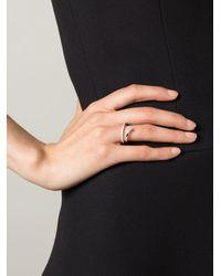 Delfina Delettrez Metallic 'marry Me' Ring