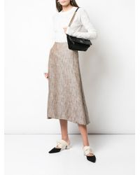 Theory Aライン スカート Multicolor