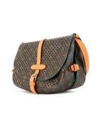 Bolso messenger Saumur 30 Louis Vuitton de color Brown