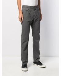 Jean droit classique Incotex pour homme en coloris Gray