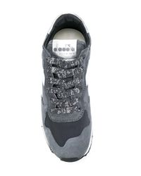 Diadora Gray Trident Sneakers for men