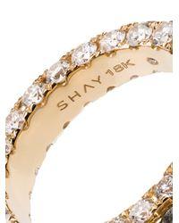 SHAY ダイヤモンド エタニティリング 18kイエローゴールド White