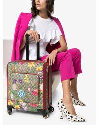 Gucci オフィディア フローラ スーツケース Red