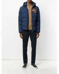 Fendi Blue Classic Skinny Trousers for men