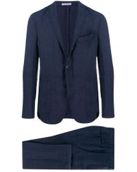Boglioli Blue Two Piece Dinner Suit for men