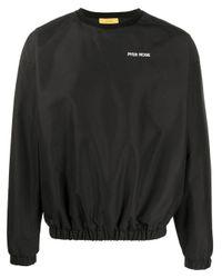 Pyer Moss Sweatshirt mit Logo-Stickerei in Black für Herren