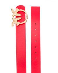 Cinturón Lunia 2 Pinko de color Red