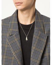Ambush - Metallic Hand Pendant Necklace - Lyst