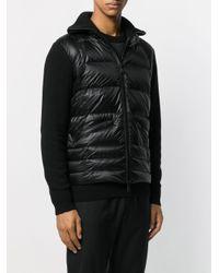 Veste matelassée en maille 3 MONCLER GRENOBLE pour homme en coloris Black