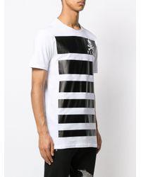 メンズ Philipp Plein ロゴ Tシャツ White