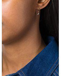 Jezebel London - Metallic 'dean Hoop' Earrings - Lyst