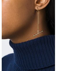 Noritamy | Metallic 'assymetric Joint' Earring | Lyst