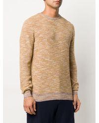 Altea Natural Striped Knitted Jumper for men