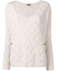 Maglione di N.Peal Cashmere in Multicolor