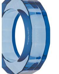 Bottega Veneta オーバーサイズ バングル Blue