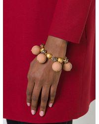 Marni Brown Sphere Bracelet
