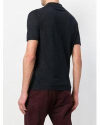 Corneliani Blue Polo Shirt for men
