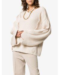Stella McCartney オーバーサイズ セーター Natural