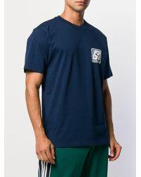 メンズ Adidas Yanc Tシャツ Blue
