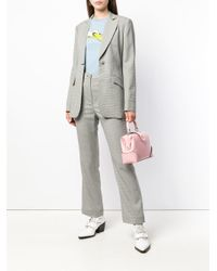 AlexaChung Black Slim Tailored Jacket