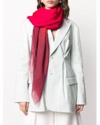 Faliero Sarti フレイドエッジ スカーフ Multicolor