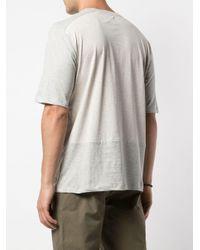 メンズ Folk トーナルパネル Tシャツ Multicolor