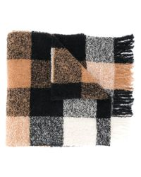 Woolrich チェック スカーフ Multicolor