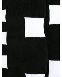 メンズ KTZ ロゴ入りソックス Black