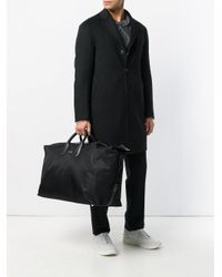 Alexander McQueen Black Classic Holdall for men