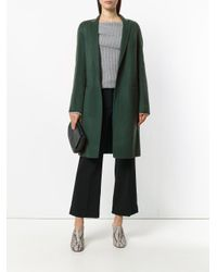 Theory - Green Double-faced Essential Coat - Lyst