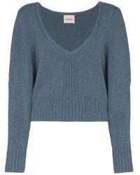 Khaite Charlette カシミア セーター Blue