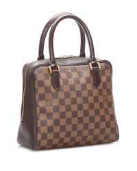 Borsa tote 1998 Pre-owned Brera Damier Ebene di Louis Vuitton in Brown