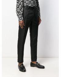 メンズ Dolce & Gabbana テーラードパンツ Black