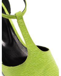 Escarpins Bella 40 By Far en coloris Green
