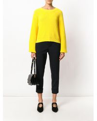 Marni Black Cropped Trousers
