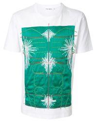 メンズ Craig Green エンブロイダリー Tシャツ Multicolor